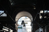techos, lamparas, mercado central