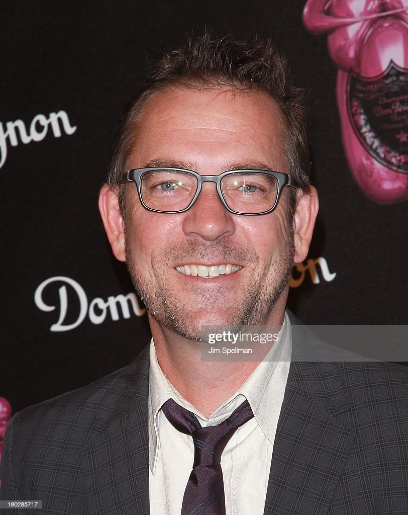 <a gi-track='captionPersonalityLinkClicked' href=/galleries/search?phrase=Ted+Allen&family=editorial&specificpeople=204146 ng-click='$event.stopPropagation()'>Ted Allen</a> attends the Dom Perignon Limited Edition Jeff Koons Bottle Launch at 711 Greenwich Street on September 10, 2013 in New York City.