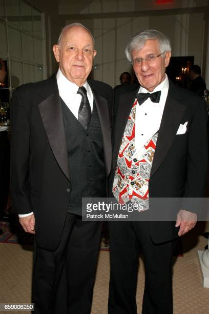 Ted Bartwink and Bill Perlmuth attend BALLET HISPANICO's Black Slipper Ball at The Plaza Grand Ballroom on April 20 2009 in New York City