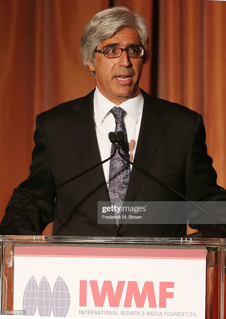 Ted Boutrous speaks during the 2012 International Women's Media Foundation's Courage In Journalism Awards at The Beverly Hills Hotel on October 29, 2012 in Beverly Hills, California.