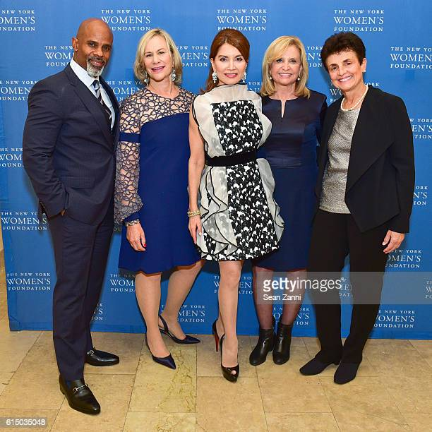Ted Bunch Laurie M Tisch Jean Shafiroff Congresswoman Carolyn Maloney and Ana L Oliveira attend The New York Women's Foundation's 2016 Fall Gala at...