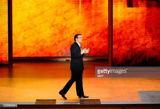 Ted Cruz US Senate candidate from Texas speaks at the second day of the Republican National Convention in Tampa Florida Tuesday August 28 2012