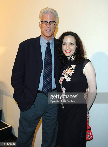Ted Danson and Bebe Neuwirth during The Winners of the 6th Annual More Magazine Wilhelmina 40 Model Search at Cipriani in New York City New York...