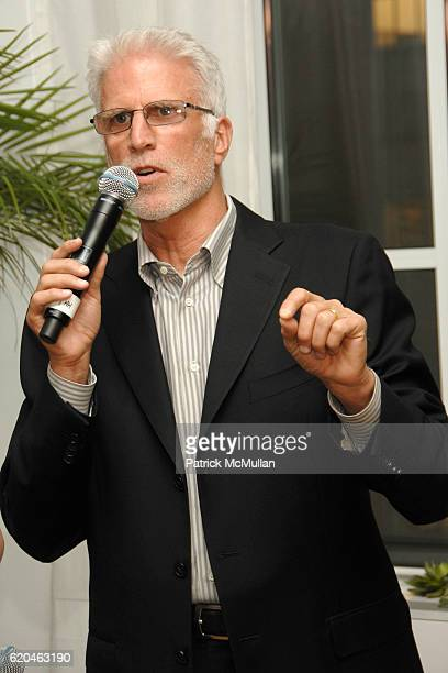 Ted Danson attends LA MER and OCEANA Party for WORLD OCEAN DAY 2008 at 620 Loft Garden on June 4 2008 in New York City