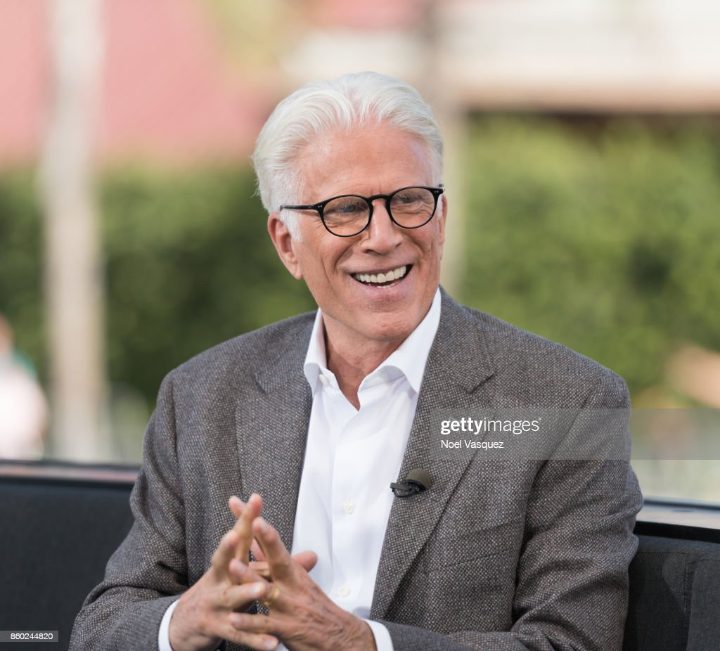Ted Danson visits 'Extra' at Universal Studios Hollywood on October 11, 2017 in Universal City, California.