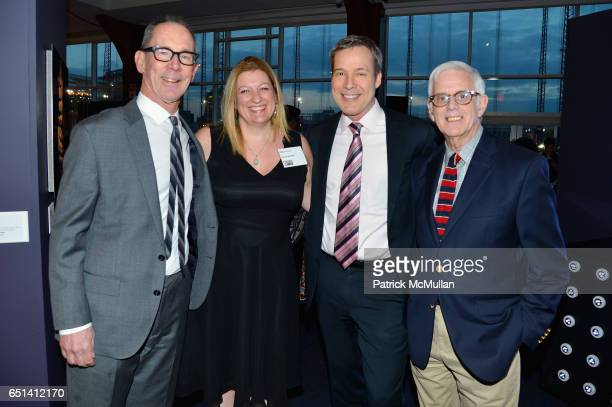 Ted Dawson Kate Weinstein J Bland and Philip Caggiano attend the Bailey House Gala Auction 2017 at Pier Sixty at Chelsea Piers on March 9 2017 in New...