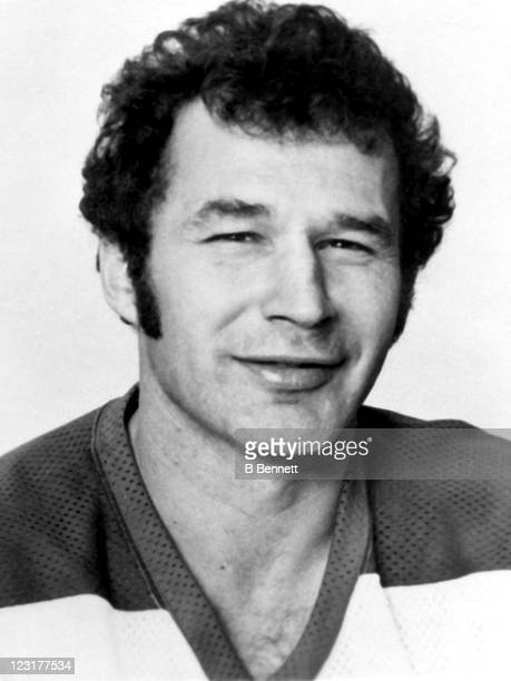 Ted Green of the Winnipeg Jets poses for a portrait in September 1976 in Winnipeg Manitoba Canada