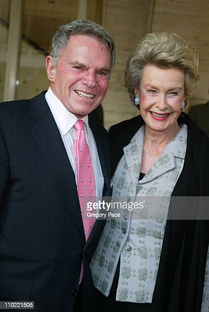 Ted Hartley and Dina Merrill during The Film Society of Lincoln Center Honors Dustin Hoffman Arrivals at Lincoln Center's Avery Fisher Hall in New...