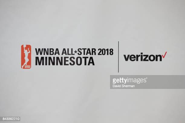 Ted Johnson Chief Strategy Officer Carley Knox Vice President of Business Operations and Lindsay Whalen of the Minnesota Lynx along with Jay Parry...