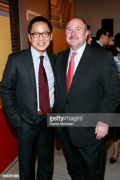 Ted Jung and Bill Cary attend MUSEUM OF MODERN ART and HYUNDAICARD Celebrate The Launch of DESTINATION SEOUL at MoMa Design Store on February 10 2009...