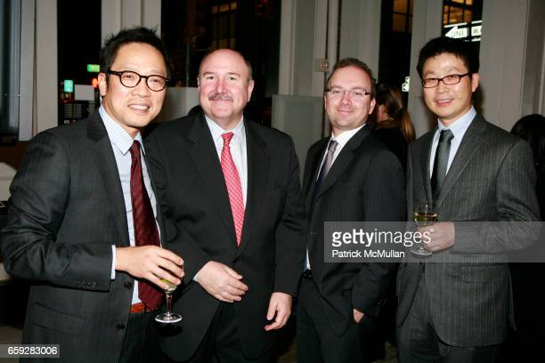 Ted Jung Bill Cary Vincenzo Picone and Jin Hwan Choi attend MUSEUM OF MODERN ART and HYUNDAICARD Celebrate The Launch of DESTINATION SEOUL at MoMa...