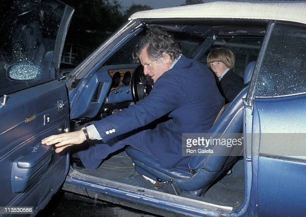 Ted Kennedy and Patrick Kennedy during Ted Kennedy and Patrick Kennedy Leaving Mass at St Luke's Church June 3 1979 at St Luke's Church in Washington...