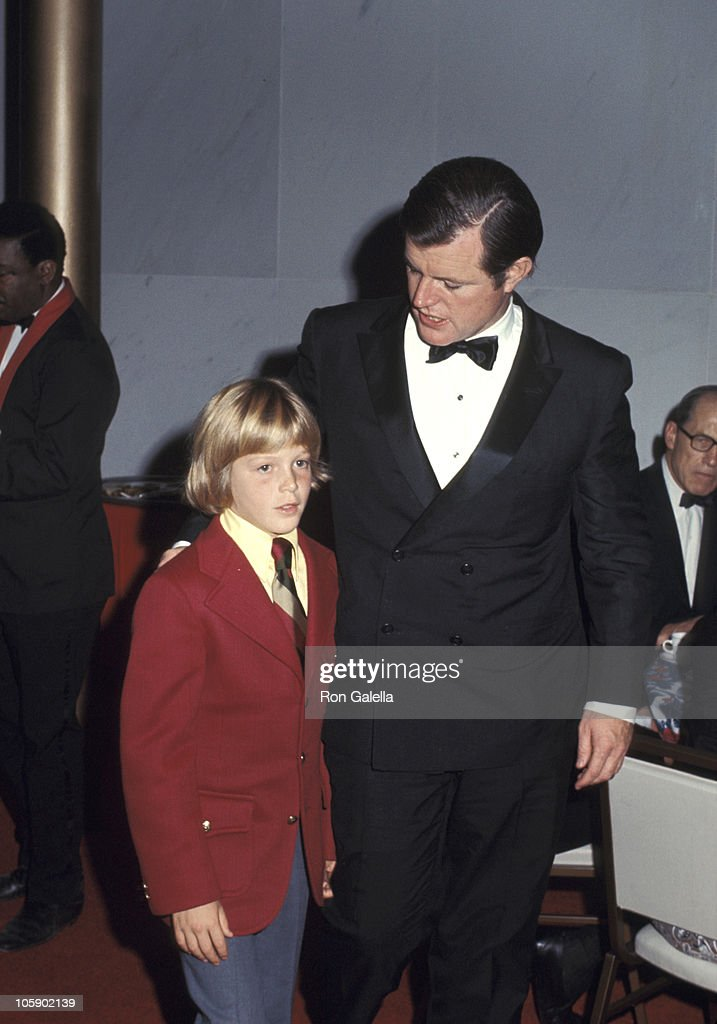 <a gi-track='captionPersonalityLinkClicked' href=/galleries/search?phrase=Ted+Kennedy+-+Senator&family=editorial&specificpeople=209143 ng-click='$event.stopPropagation()'>Ted Kennedy</a> and son <a gi-track='captionPersonalityLinkClicked' href=/galleries/search?phrase=Ted+Kennedy+-+Senator&family=editorial&specificpeople=209143 ng-click='$event.stopPropagation()'>Ted Kennedy</a> Jr. during Joseph Kennedy Jr. Foundation Symposion on Human Rights, 1971 at Kennedy Center in Washington, DC, United States.
