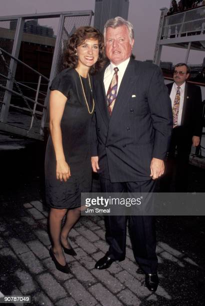 Ted Kennedy and Victoria Reggie