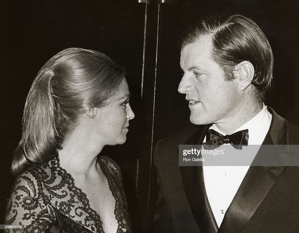 <a gi-track='captionPersonalityLinkClicked' href=/galleries/search?phrase=Ted+Kennedy+-+Senator&family=editorial&specificpeople=209143 ng-click='$event.stopPropagation()'>Ted Kennedy</a> (R) and wife Joan Kennedy during Joseph Kennedy Jr. Foundation Symposion on Human Rights, 1971 at Kennedy Center in Washington, DC, United States.