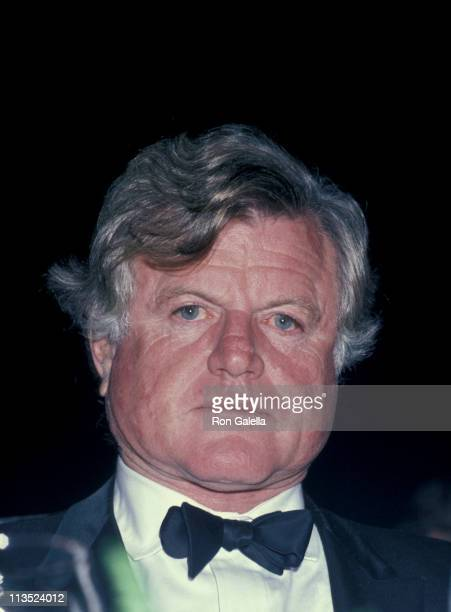 Ted Kennedy during Ted Kennedy Speaks at Waldorf Astoria Hotel October 20 1985 at Waldorf Astoria in New York City New York United States