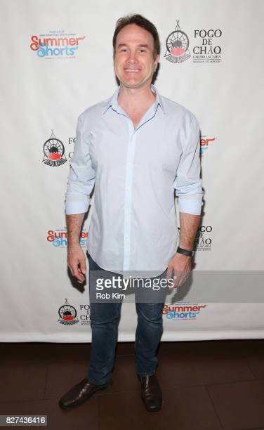 Ted Koch attends the OffBroadway opening night party for 'SUMMER SHORTS 2017' at Fogo de Chao Churrascaria on August 7 2017 in New York City