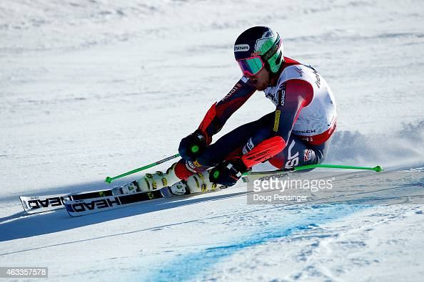 Ted Ligety of the United States races during the Men's Giant Slalom on Day 12 of the 2015 FIS Alpine World Ski Championships on February 13 2015 in...