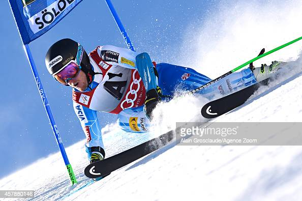 Ted Ligety of the USA competes during the Audi FIS Alpine Ski World Cup Men's Giant Slalom on October 26 2014 in Soelden Austria