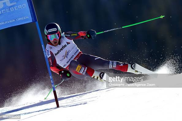 Ted Ligety of the USA competes during the FIS Alpine World Ski Championships Men's Giant Slalom on February 13 2015 in Beaver Creek Colorado