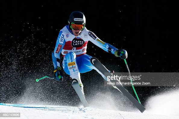 Ted Ligety of the USA takes 2nd place during the Audi FIS Alpine Ski World Cup Men's Giant Slalom on December 21 2014 in Alta Badia Italy