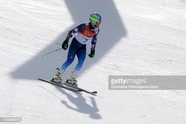 Ted Ligety of the USA wins the gold medal during the Alpine Skiing Men's Giant Slalom at the Sochi 2014 Winter Olympic Games at Rosa Khutor Alpine...