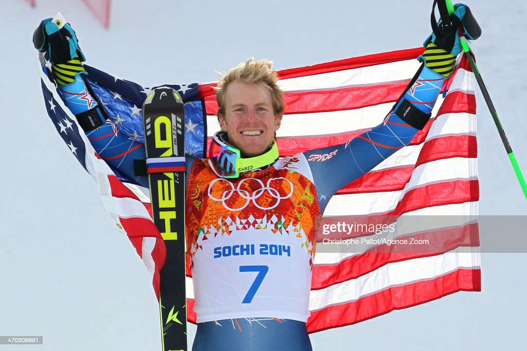 <a gi-track='captionPersonalityLinkClicked' href=/galleries/search?phrase=Ted+Ligety&family=editorial&specificpeople=580537 ng-click='$event.stopPropagation()'>Ted Ligety</a> of the USA wins the gold medal during the Alpine Skiing Men's Giant Slalom at the Sochi 2014 Winter Olympic Games at Rosa Khutor Alpine Centre on February 19, 2014 in Sochi, Russia.