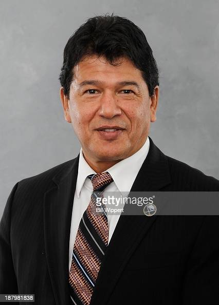 Ted Nolan poses for his official headshot after being named interim head coach of the Buffalo Sabres on November 13 2013 at the First Niagara Center...