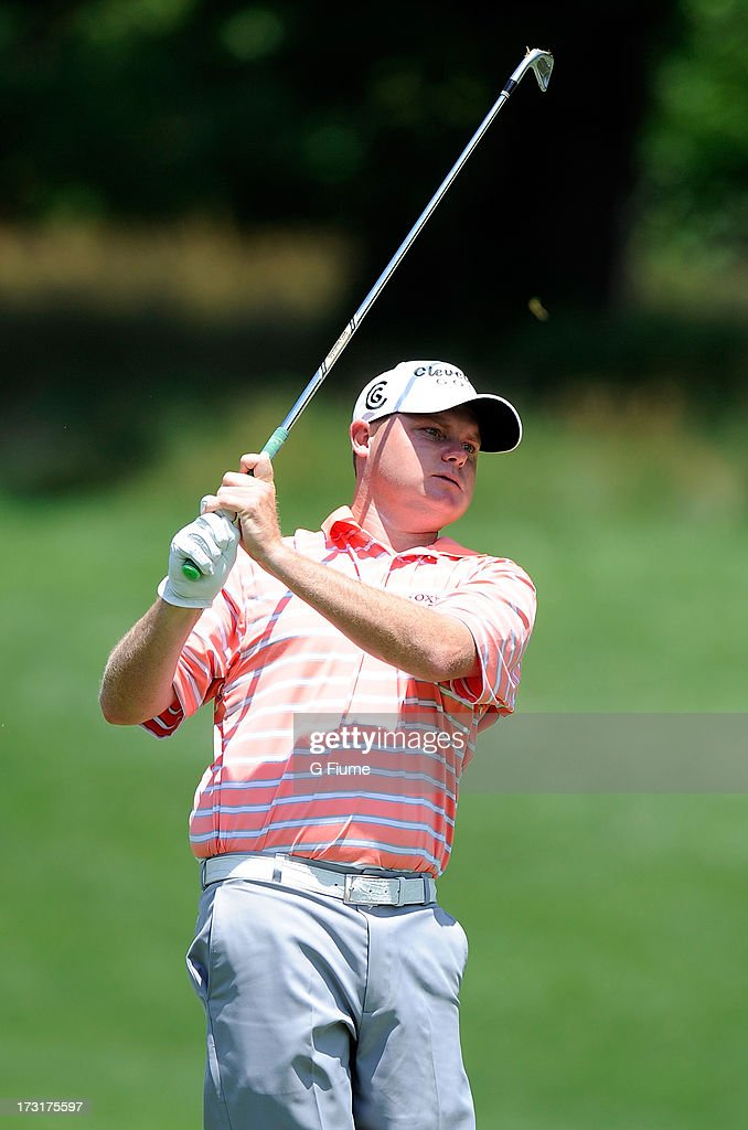 <a gi-track='captionPersonalityLinkClicked' href=/galleries/search?phrase=Ted+Potter+Jr.&family=editorial&specificpeople=5841876 ng-click='$event.stopPropagation()'>Ted Potter Jr.</a> hits an approach shot on the 14th hole during Round Three of the AT&T National at Congressional Country Club on June 29, 2013 in Bethesda, Maryland.