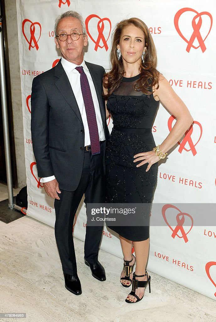 Ted Sann and Dini von Mueffling attend the Love Heals 2014 Gala at Four Seasons Restaurant on March 11, 2014 in New York City.