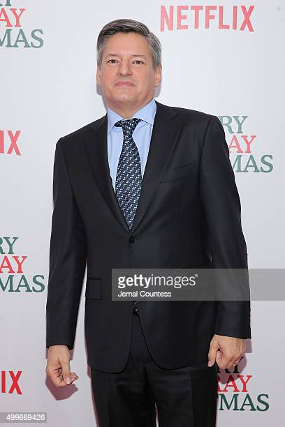 Ted Sarandos attends the 'A Very Murray Christmas' New York Premiere at Paris Theater on December 2 2015 in New York City