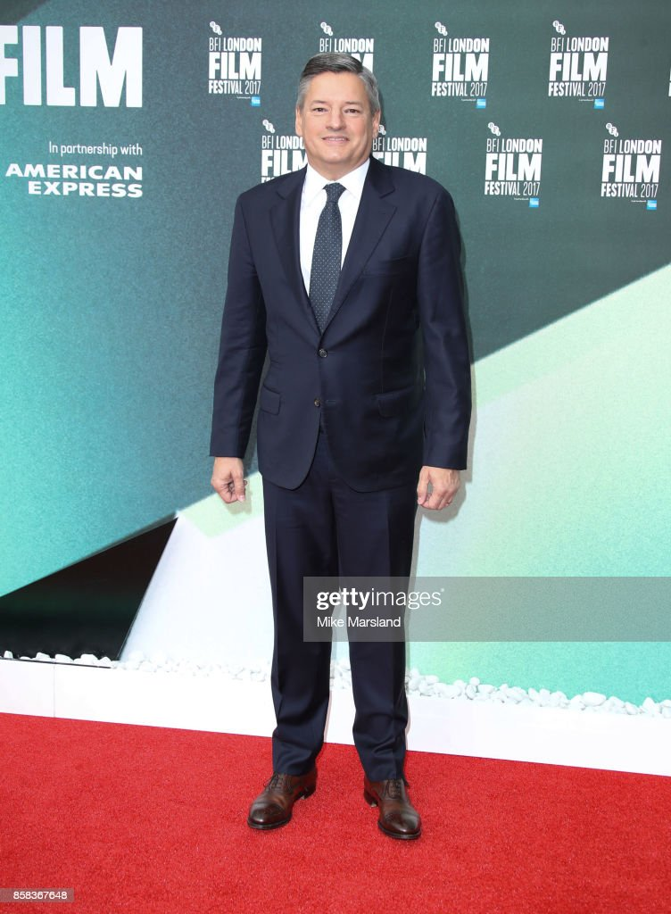 Ted Sarandos attends the Laugh Gala & UK Premiere of 'The Meyerowitz Stories' during the 61st BFI London Film Festival on October 6, 2017 in London, England.