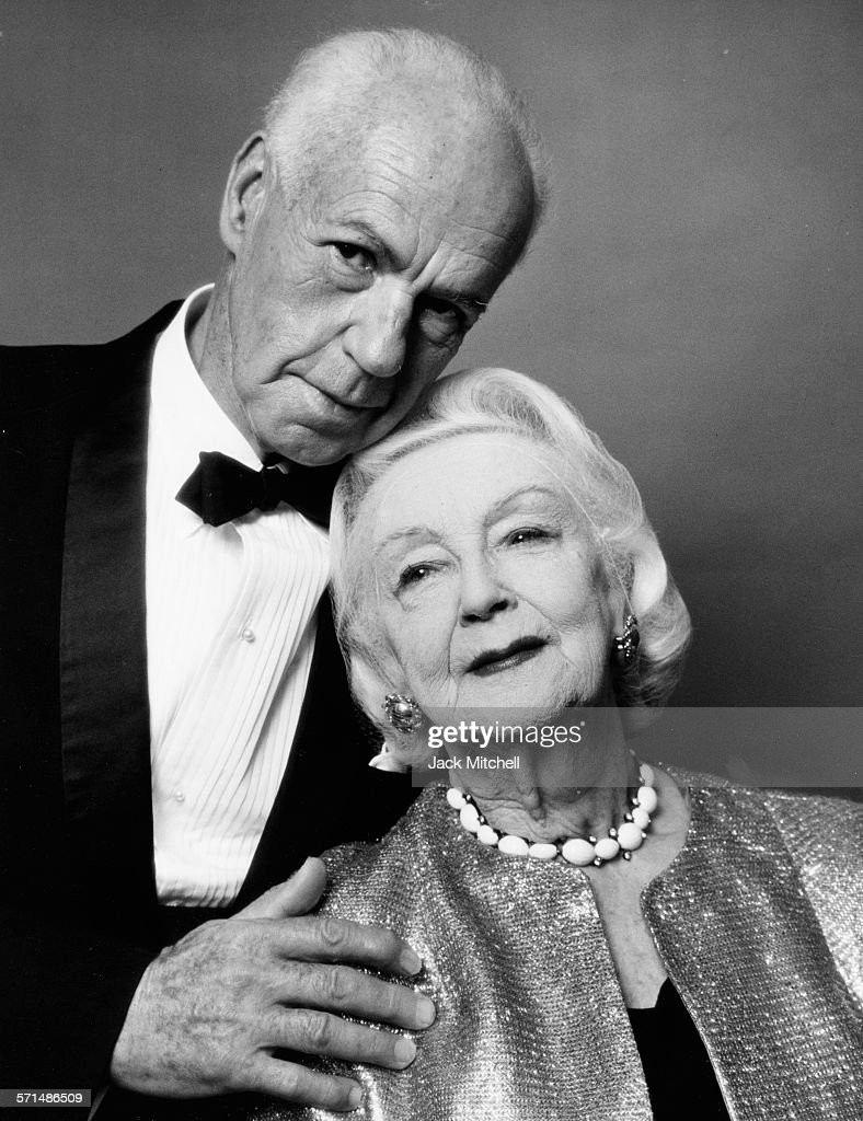 Ted Shawn and his wife Ruth St Denis pioneers of modern dance photographed on their 50th Wedding Anniversary August 11 1964