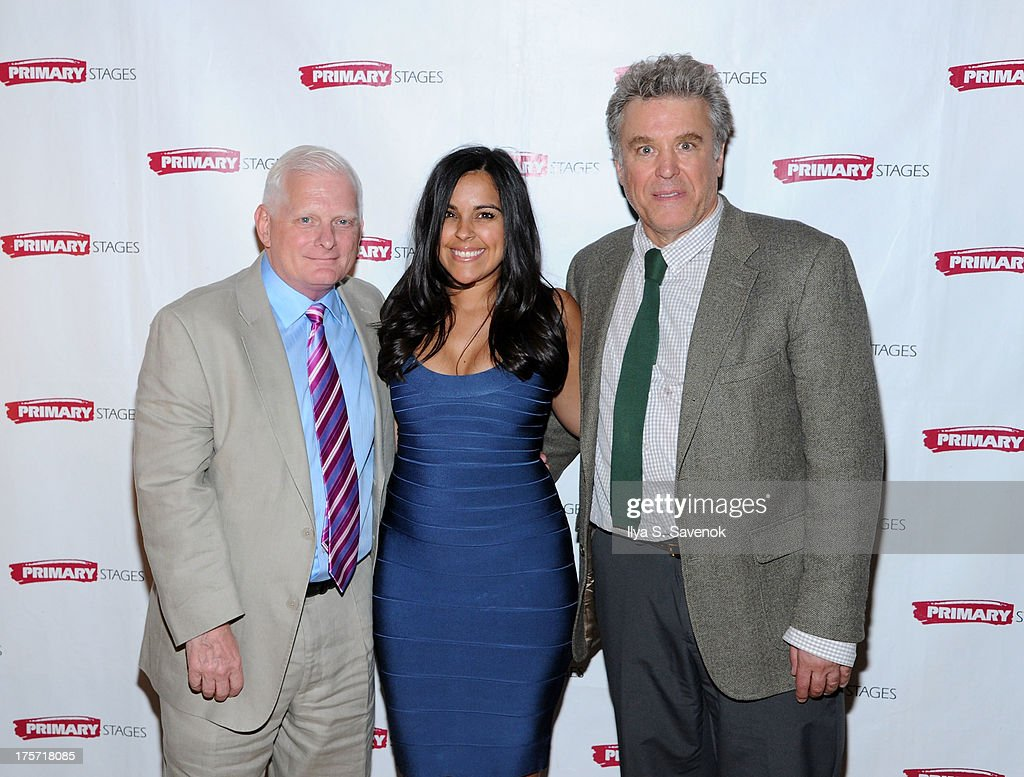 Ted Snowden, Michelle Bossy and Casey Childs attend 'Harbor' Opening Night After Party at Park Avenue Armory on August 6, 2013 in New York City.