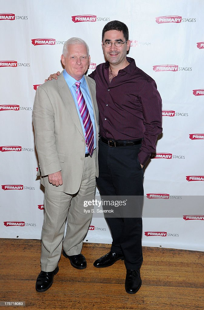 Ted Snowdon and Jonathan Tollns attend 'Harbor' Opening Night After Party at Park Avenue Armory on August 6, 2013 in New York City.