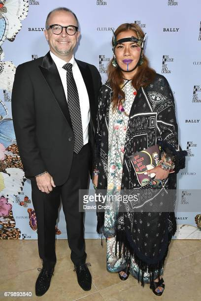 Ted Tishinski and Chris Chang attend the 35th Annual Otis College Scholarship Benefit and Fashion Show at The Beverly Hilton Hotel on May 6 2017 in...