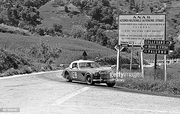Ted WorswickRichard Bond's AustinHealey 3000 racing in the Targa Florio Sicily 1967