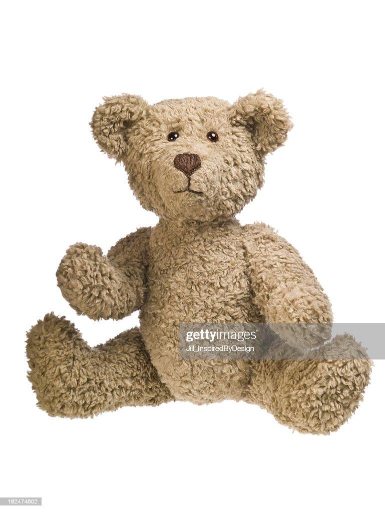 Teddy bear sitting