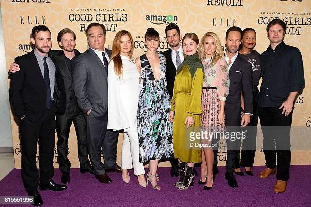 Teddy Bergman Hunter Parrish Jim Belushi Grace Gummer Erin Darke Daniel Eric Gold Genevieve Angelson Anna Camp Chris Diamantopoulos Joy Bryant and...