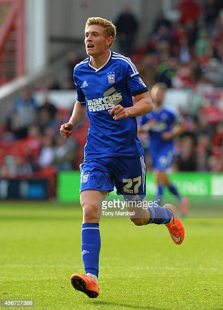 Teddy Bishop of Ipswich Town during the Sky Bet Championship match between Nottingham Forest and Ipswich Town at City Ground on October 5 2014 in...