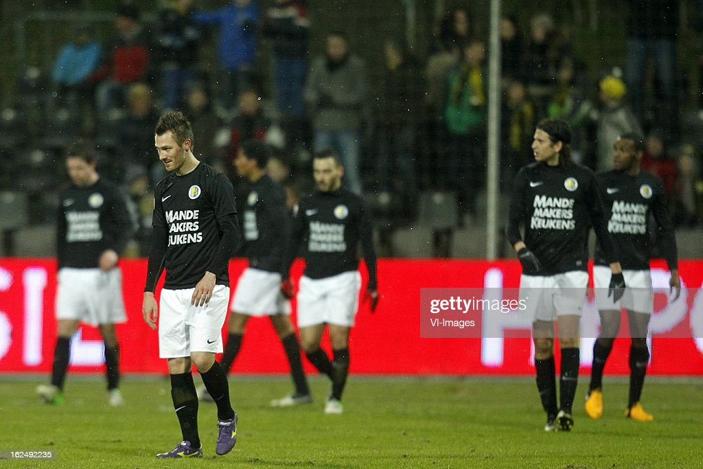 Teddy Chevalier of RKC Waalwijk during the Dutch Eredivisie Match between VVV-Venlo and RKC Waalwijk at Stadium De Koel on february 23, 2013 in Venlo, The Netherlands