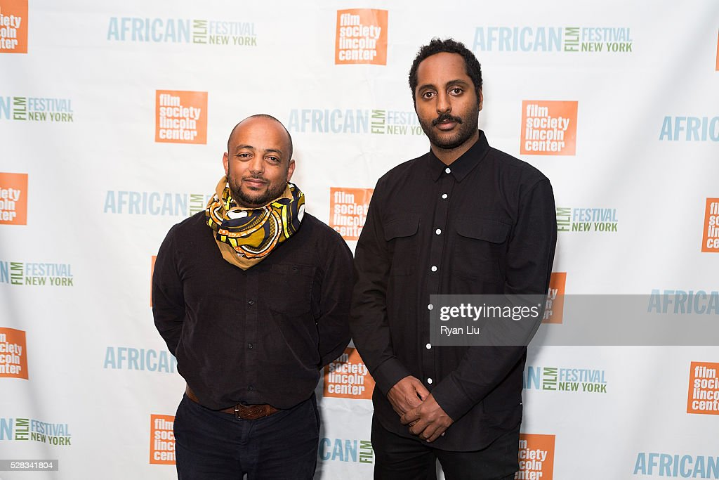 Teddy Goitom and Senay Berhe attend the 23rd New York African Film Festival Opening Night at Walter Reade Theater on May 4, 2016 in New York City.