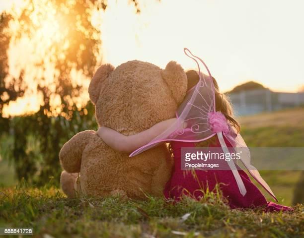 Teddy is her best friend