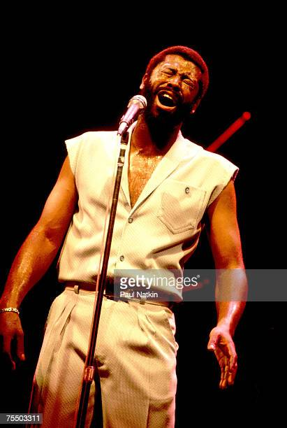Teddy Pendergrass on 6/1/81 in Memphis Tn in Various Locations