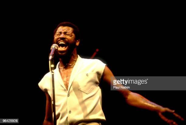 Teddy Pendergrass on 6/1/81 in Memphis Tn