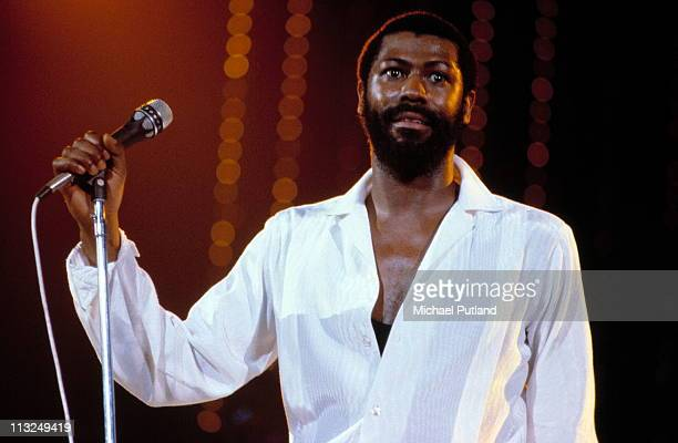 Teddy Pendergrass performs on stage New York 1981