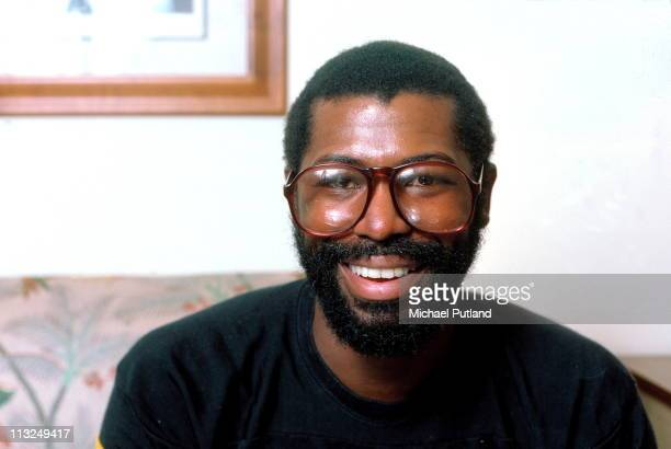 Teddy Pendergrass portrait New York 1981