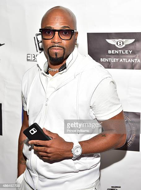 Teddy Riley attends The Grass Is Greener at Bowlmor lanes on September 3 2015 in Atlanta Georgia