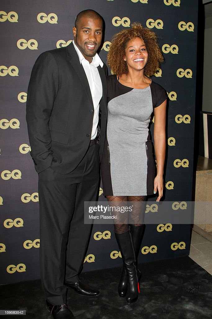 <a gi-track='captionPersonalityLinkClicked' href=/galleries/search?phrase=Teddy+Riner&family=editorial&specificpeople=4114927 ng-click='$event.stopPropagation()'>Teddy Riner</a> (L) and Luthna Riner attend the GQ Men of the Year 2012 at Musee d'Orsay on January 16, 2013 in Paris, France.