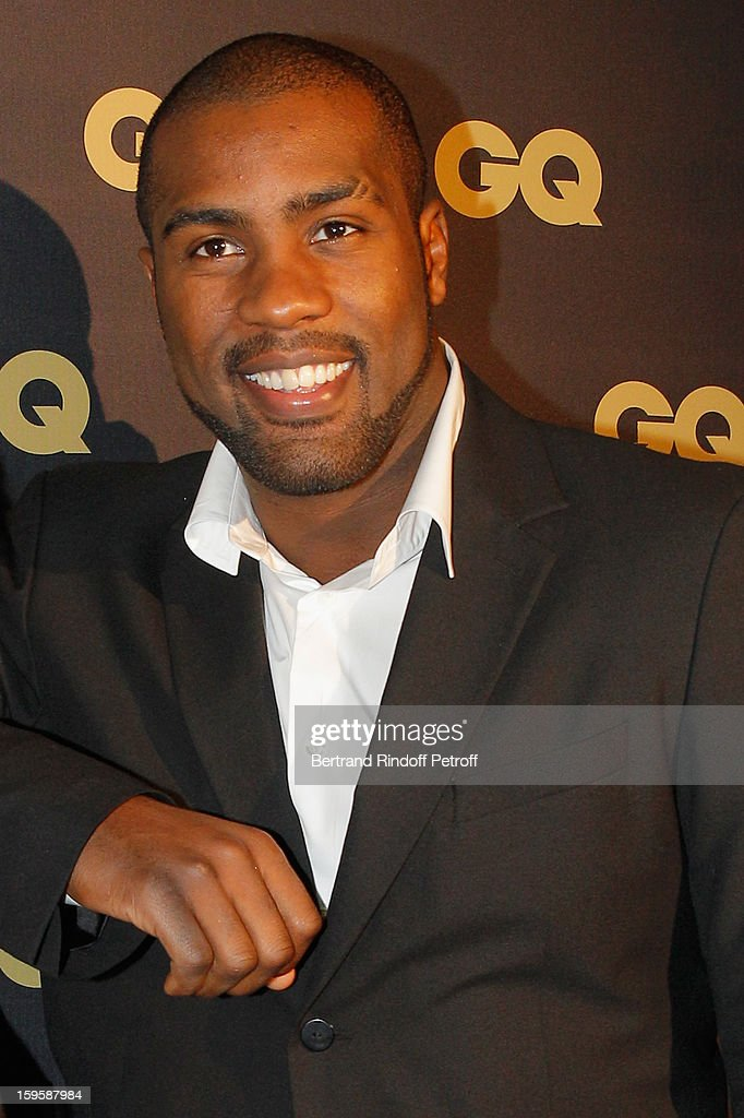 Teddy Riner attends the GQ Men of the year awards 2012 at Musee d'Orsay on January 16, 2013 in Paris, France.